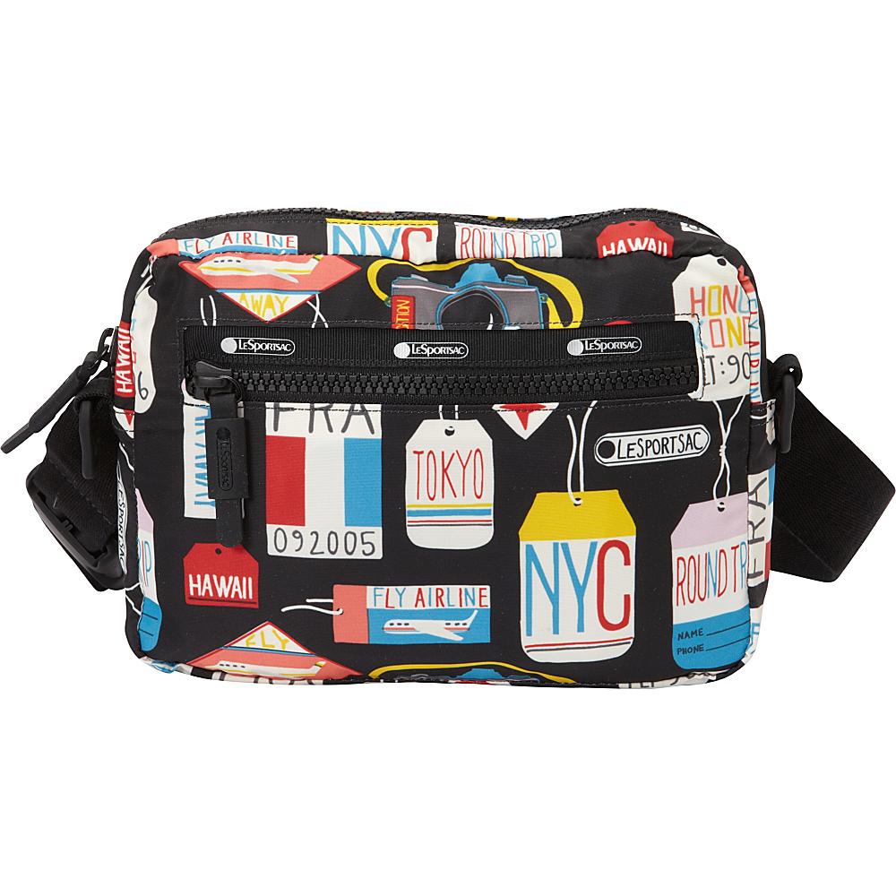 LeSportsac Travel Convertible Belt Bag Boarding Pass T LeSportsac Waist Packs