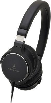 Audio Technica On-Ear High-Resolution Headphones Black - Audio Technica Headphones & Speakers