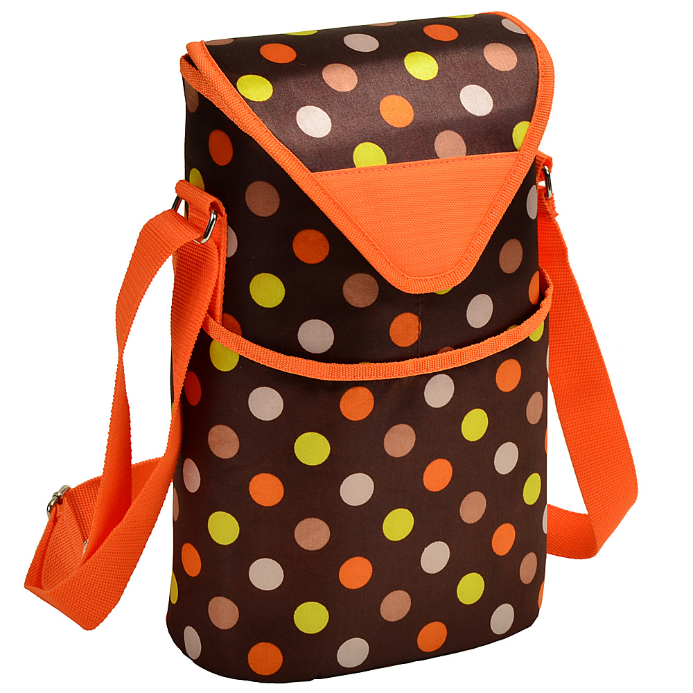 Picnic at Ascot Insulated Wine/Water Bottle Tote with Shoulder Strap Julia Dot - Picnic at Ascot Outdoor Accessories