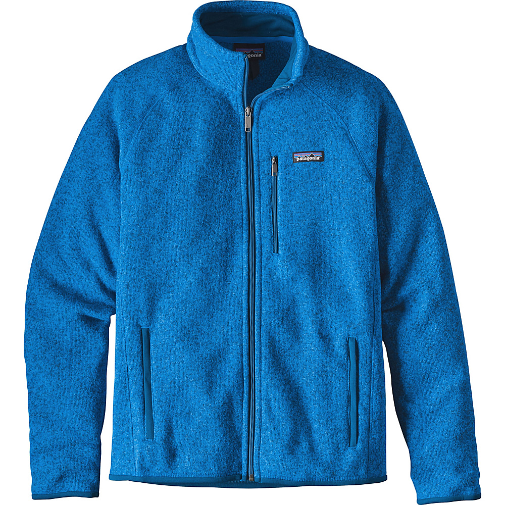 Patagonia Mens Better Sweater Jacket XS - Andes Blue - Patagonia Mens Apparel - Apparel & Footwear, Men's Apparel