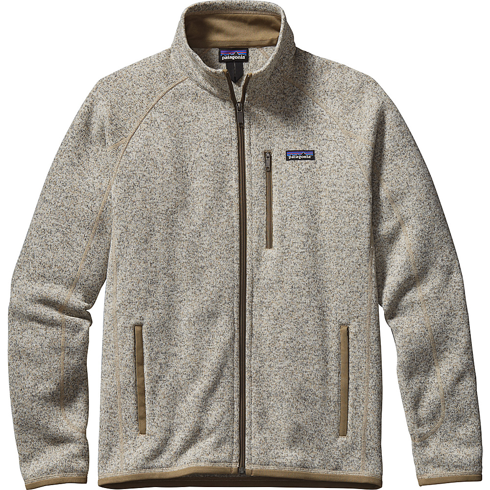 Patagonia Mens Better Sweater Jacket L - Bleached Stone - Patagonia Mens Apparel - Apparel & Footwear, Men's Apparel