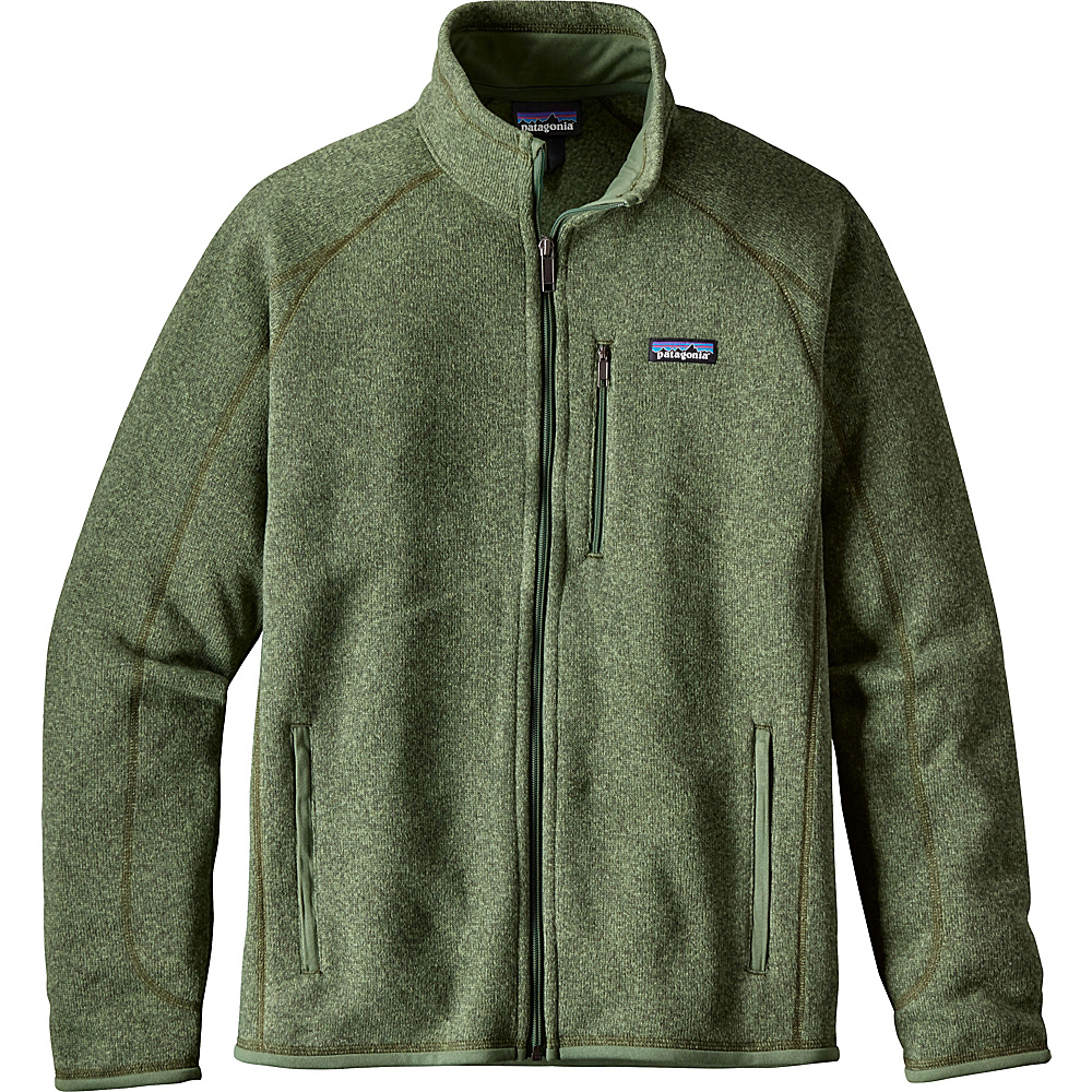 Patagonia Mens Better Sweater Jacket XS - Buffalo Green - Patagonia Mens Apparel - Apparel & Footwear, Men's Apparel