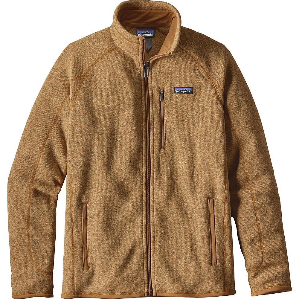 Patagonia Mens Better Sweater Jacket M - Oaks Brown - Patagonia Mens Apparel - Apparel & Footwear, Men's Apparel