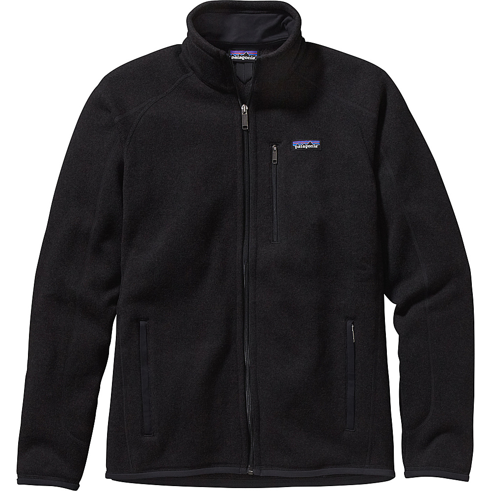 Patagonia Mens Better Sweater Jacket L - Black - Patagonia Mens Apparel - Apparel & Footwear, Men's Apparel