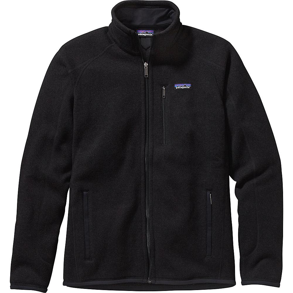 Patagonia Mens Better Sweater Jacket M - Black - Patagonia Mens Apparel - Apparel & Footwear, Men's Apparel