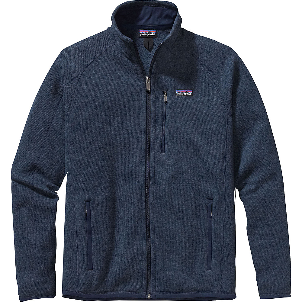 Patagonia Mens Better Sweater Jacket S - Classic Navy - Patagonia Mens Apparel - Apparel & Footwear, Men's Apparel
