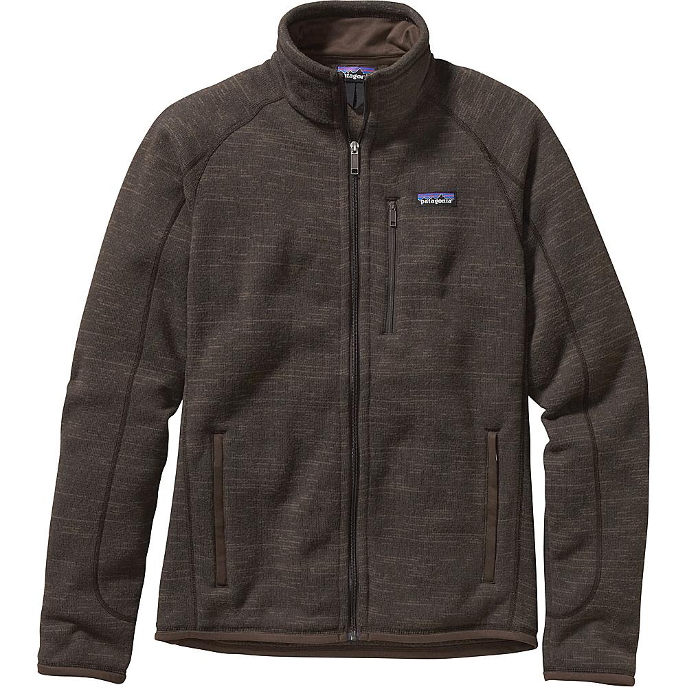 Patagonia Mens Better Sweater Jacket S - Dark Walnut - Patagonia Mens Apparel - Apparel & Footwear, Men's Apparel