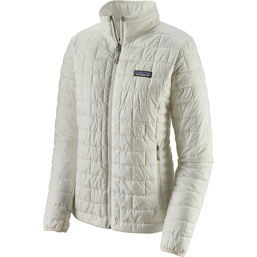 Patagonia Womens Nano Puff Jacket S - Birch White - Patagonia Womens Apparel - Apparel & Footwear, Women's Apparel