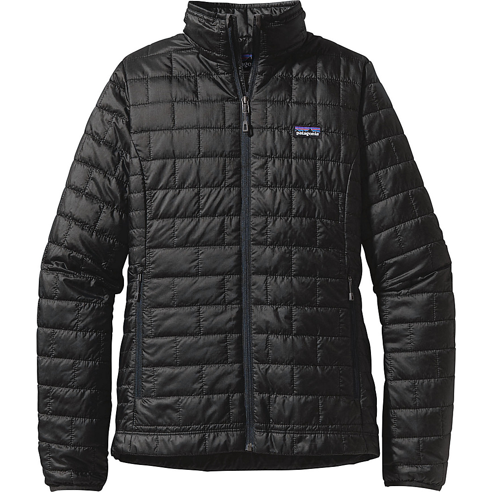 Patagonia Womens Nano Puff Jacket L - Black - Patagonia Womens Apparel - Apparel & Footwear, Women's Apparel