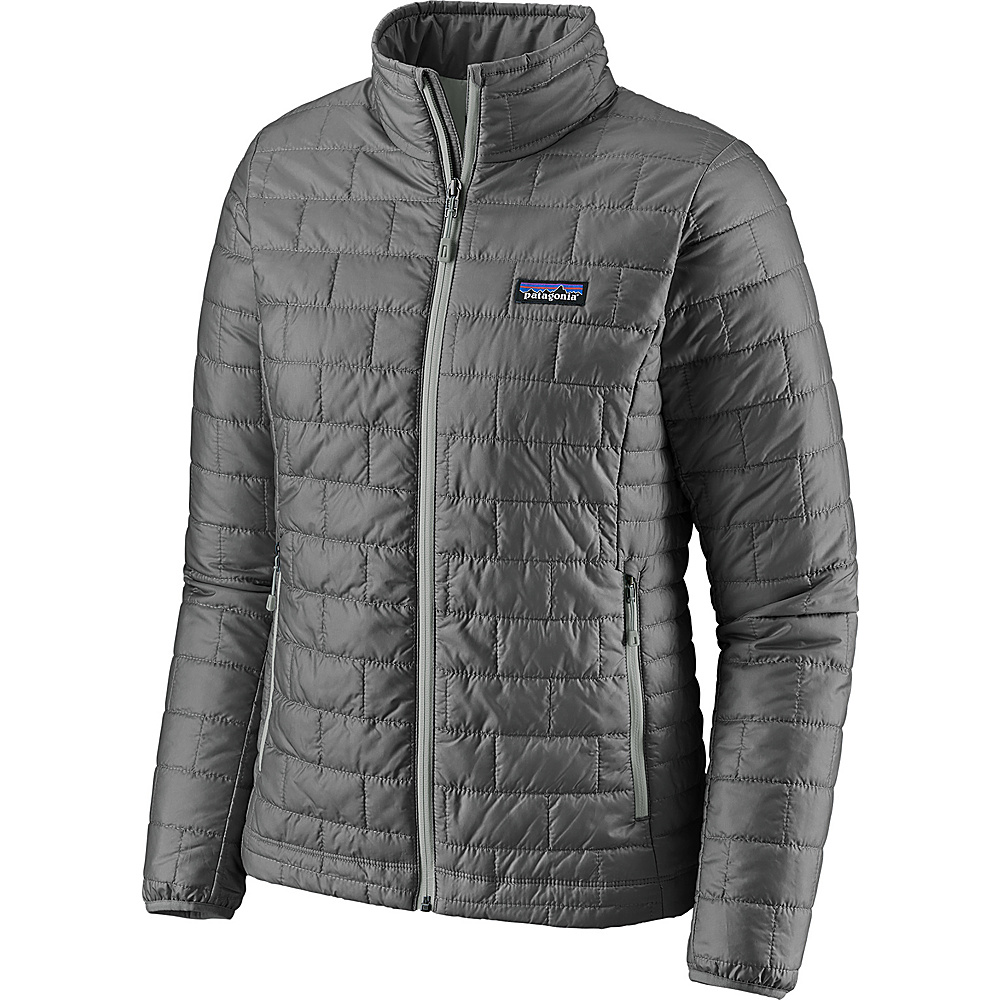 Patagonia Womens Nano Puff Jacket S - Feather Grey - Patagonia Womens Apparel - Apparel & Footwear, Women's Apparel