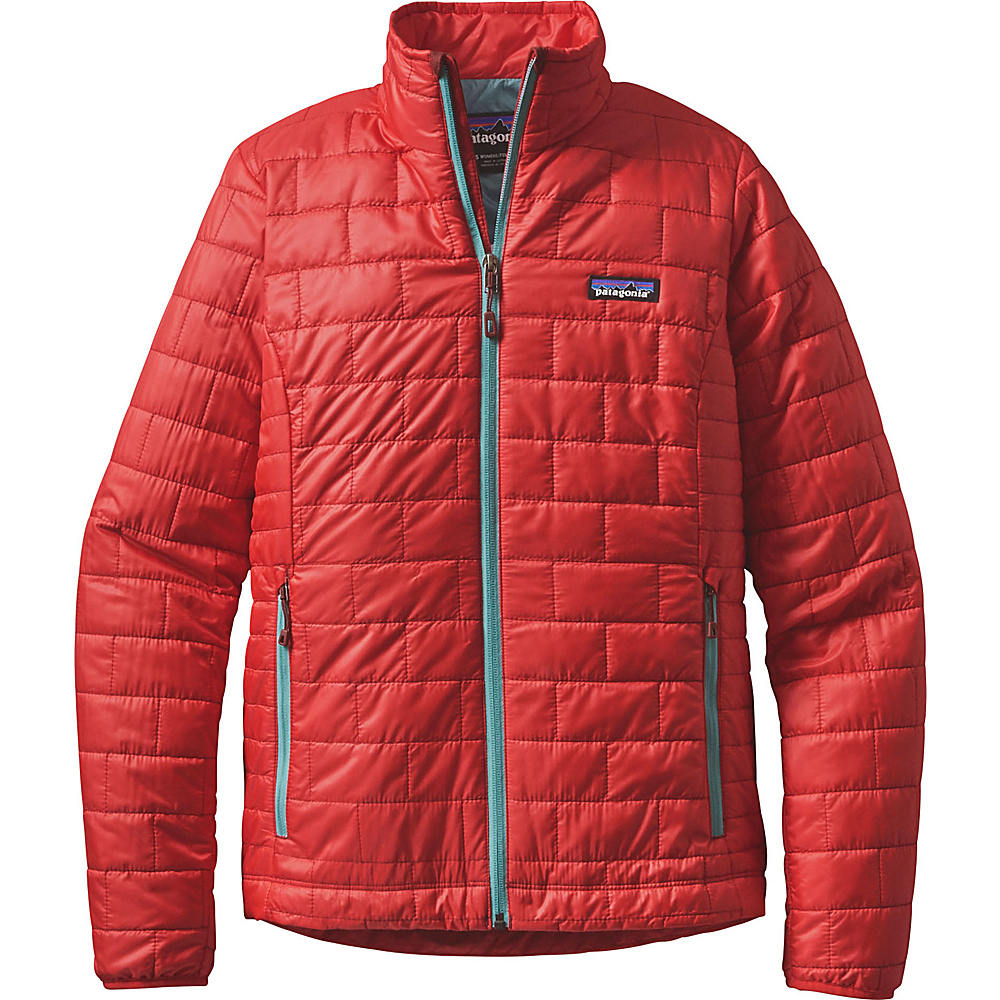 Patagonia Womens Nano Puff Jacket XL - French Red - Patagonia Womens Apparel - Apparel & Footwear, Women's Apparel