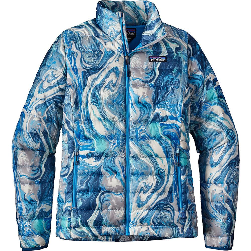 Patagonia Womens Down Jacket XXS - Rivermouth: Big Sur Blue - Patagonia Womens Apparel - Apparel & Footwear, Women's Apparel