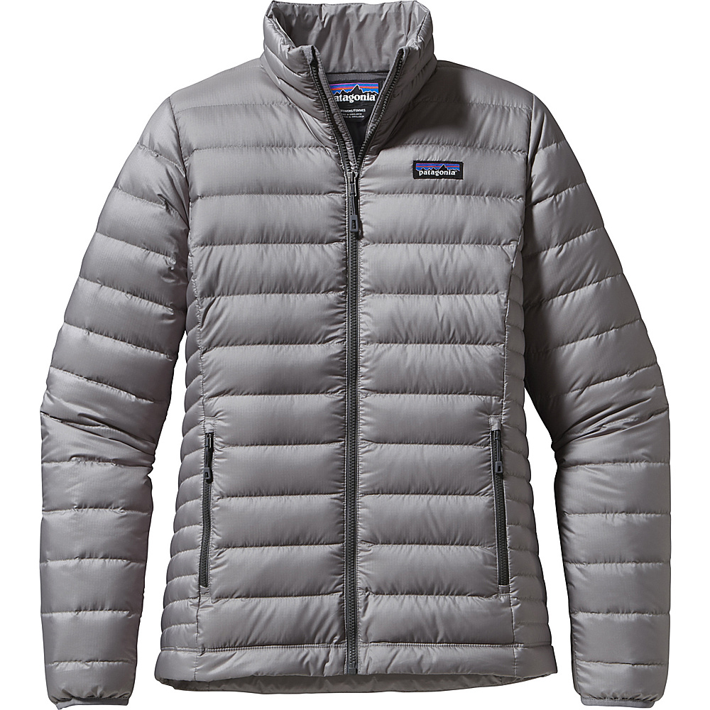 Patagonia Womens Down Jacket S - Feather Grey - Patagonia Womens Apparel - Apparel & Footwear, Women's Apparel