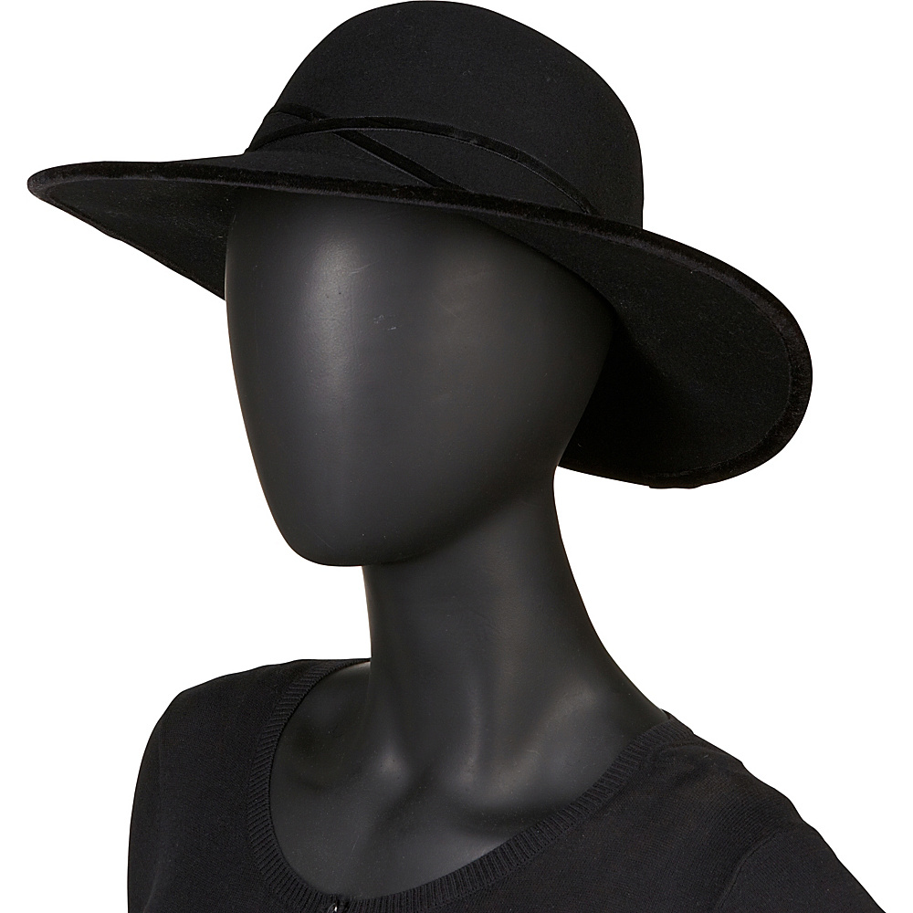 Betmar New York Marseille Hat One Size - Black - Betmar New York Hats/Gloves/Scarves