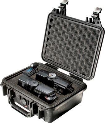 Pelican 1200-000-110 1200 1200 Small Hard Case with Foam Black - Pelican Camera Accessories