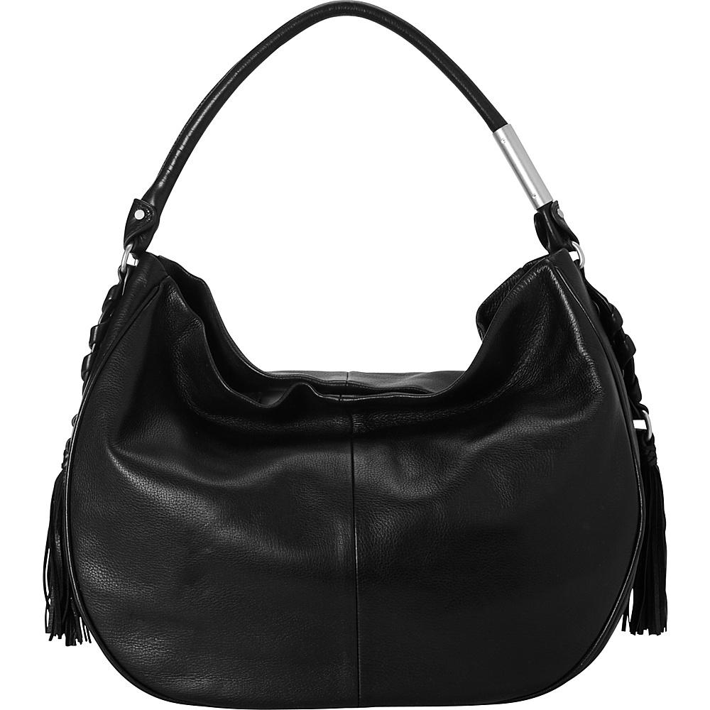 Foley Corinna La Trenza Hobo Black Foley Corinna Designer Handbags