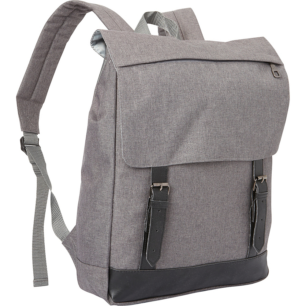 Bellino SoHo Backpack Grey - Bellino Everyday Backpacks