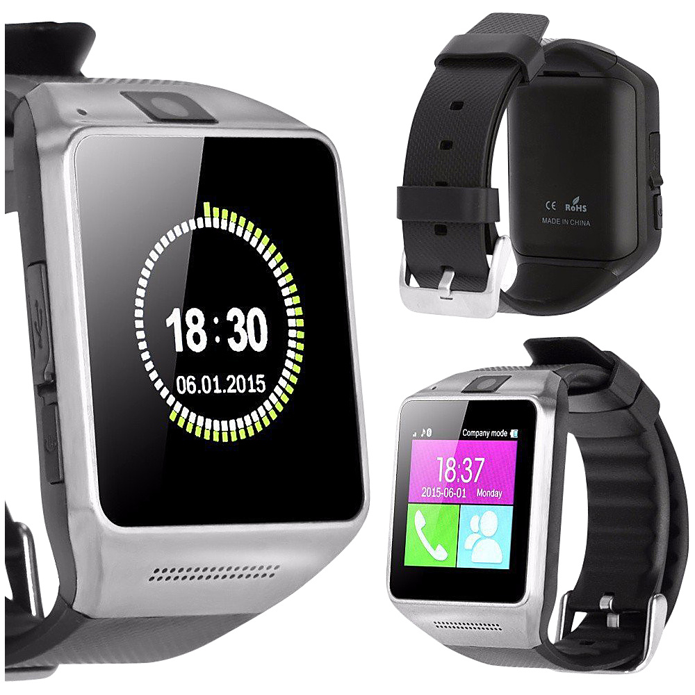 Koolulu Bluetooth Smart Watch with Camera Black - Koolulu Wearable Technology