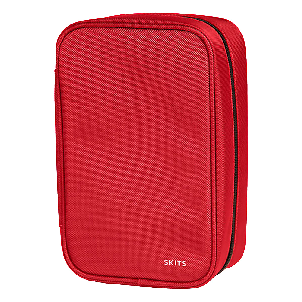 SKITS Super Geek Sport Poly Headphones Cords Case Red - SKITS Electronic Accessories