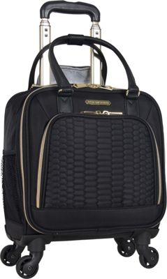 Aimee Kestenberg Florence Collection 4-Wheel Under-Seat / Carry-On Black - Aimee Kestenberg Softside Carry-On