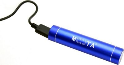 Mota 2,600 mAh Battery Stick Blue - Mota Portable Batteries & Chargers