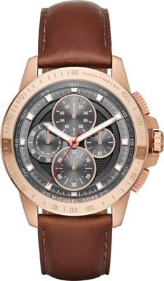 Michael Kors Watches Ryker Watch Brown - Michael Kors Watches Watches