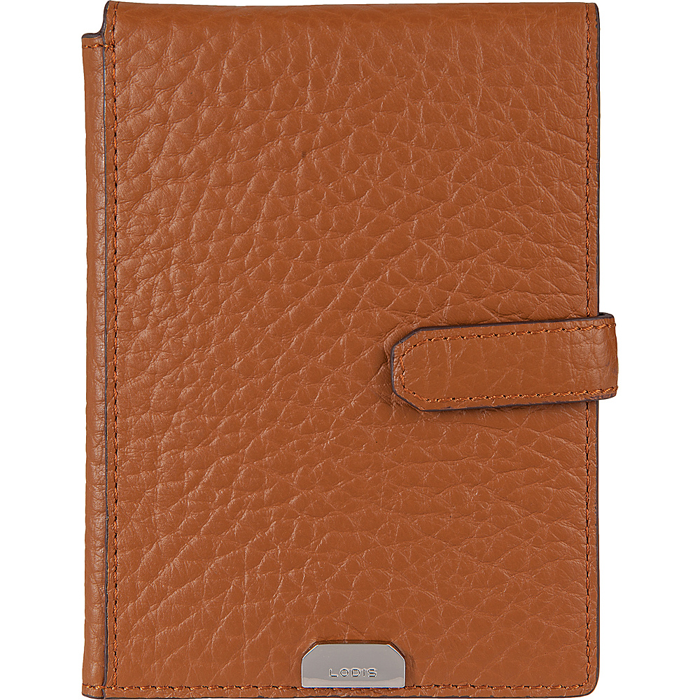 Lodis Borrego Under Lock and Key Passport Wallet with Ticket Flap Toffee - Lodis Travel Wallets - Travel Accessories, Travel Wallets