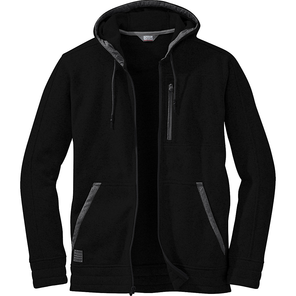 Outdoor Research Belmont Hoody M - Black - Outdoor Research Mens Apparel - Apparel & Footwear, Men's Apparel