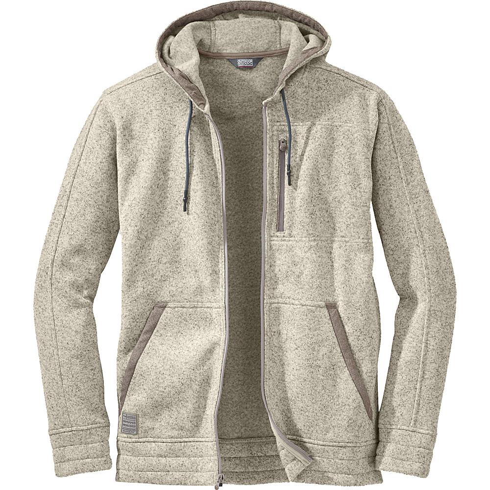 Outdoor Research Belmont Hoody XL - Cairn - Outdoor Research Mens Apparel - Apparel & Footwear, Men's Apparel