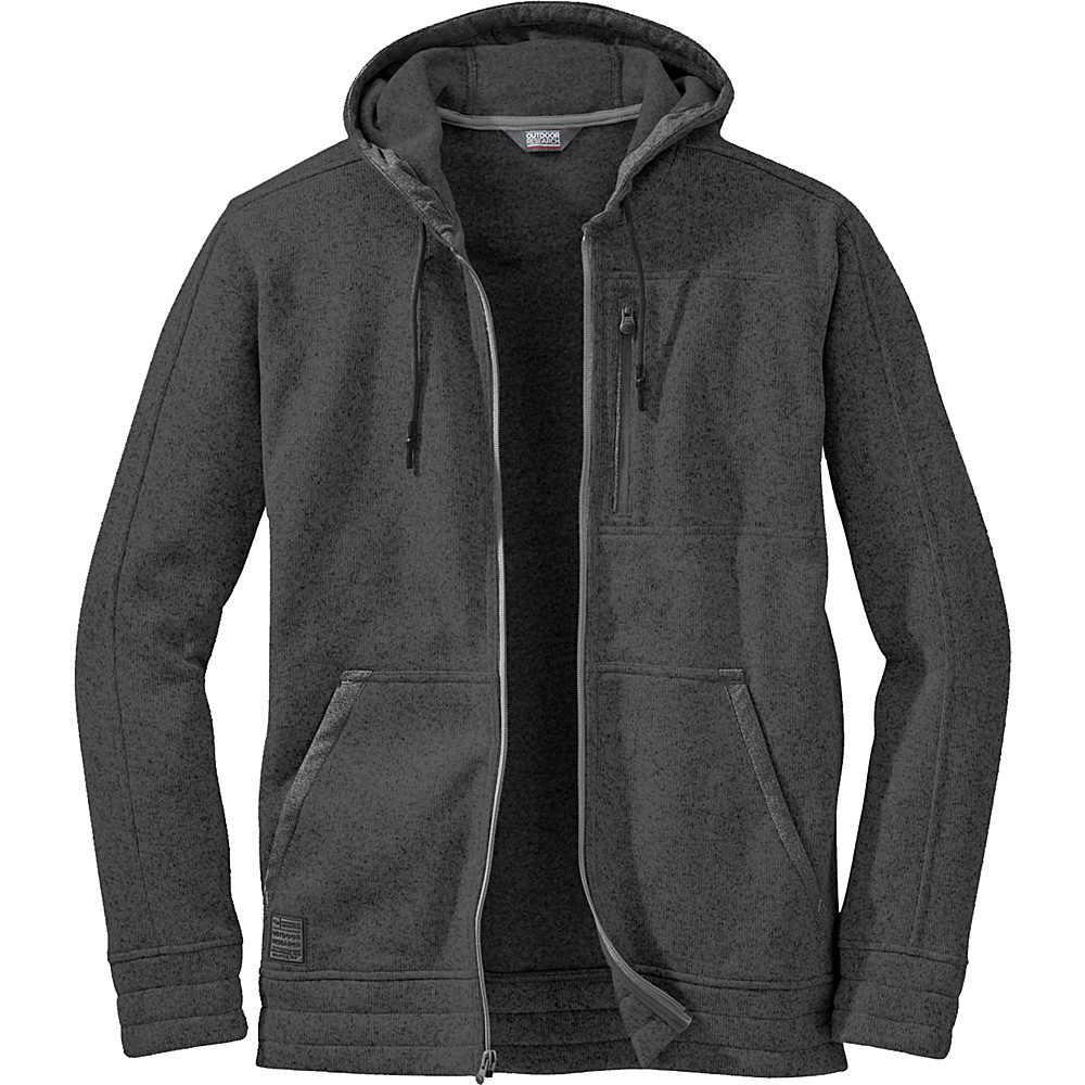 Outdoor Research Belmont Hoody S - Charcoal - Outdoor Research Mens Apparel - Apparel & Footwear, Men's Apparel