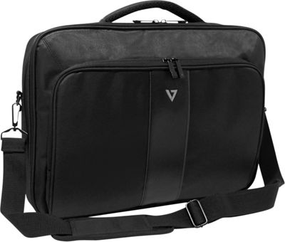V7 17 inch Professional 2 Front-Load Laptop and Tablet Case Black - V7 Non-Wheeled Business Cases