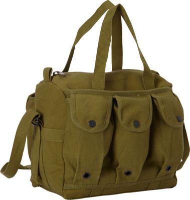 Fox Outdoor Mag Shooter's Bag Olive Drab - Fox Outdoor Outdoor Duffels