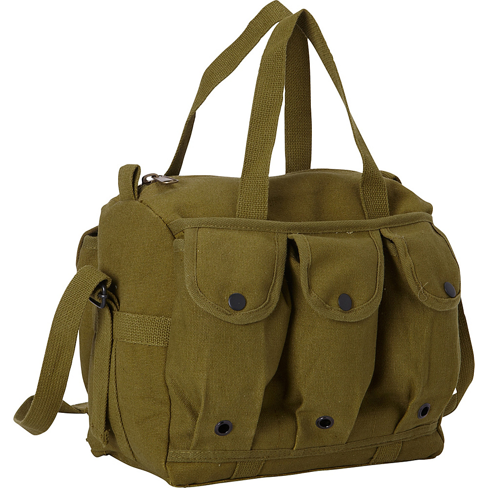 Fox Outdoor Mag Shooter s Bag Olive Drab Fox Outdoor Outdoor Duffels