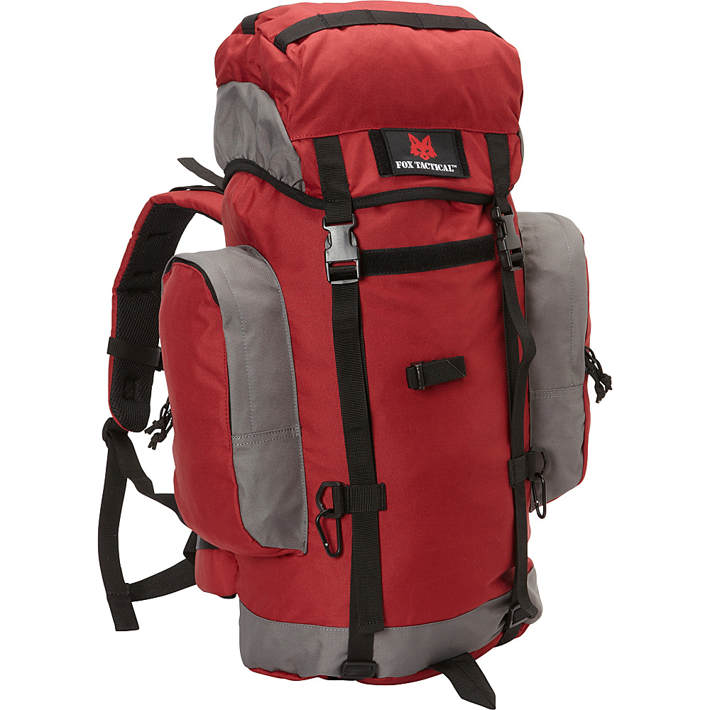 Fox Outdoor Rio Grande 45L Backpack Burgundy Fox Outdoor Day Hiking Backpacks