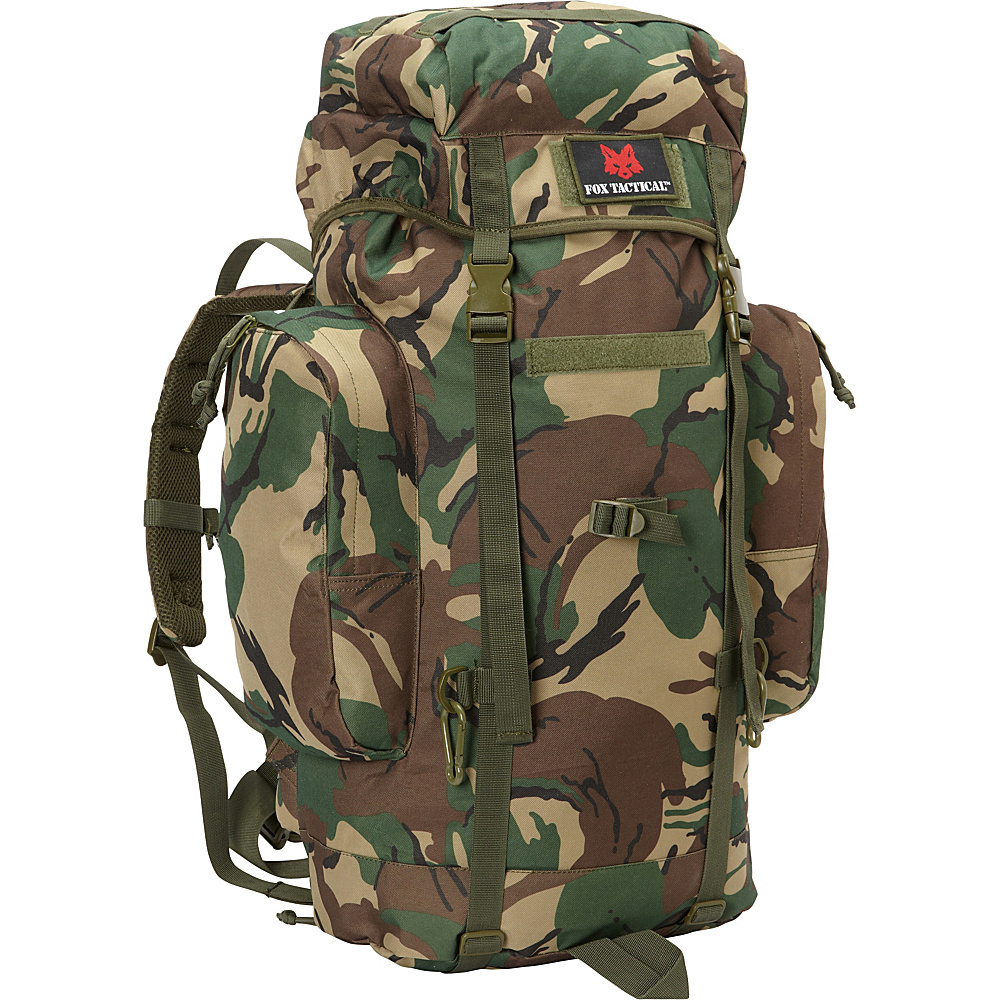 Fox Outdoor Rio Grande 45L Backpack British DPM Camo Fox Outdoor Day Hiking Backpacks