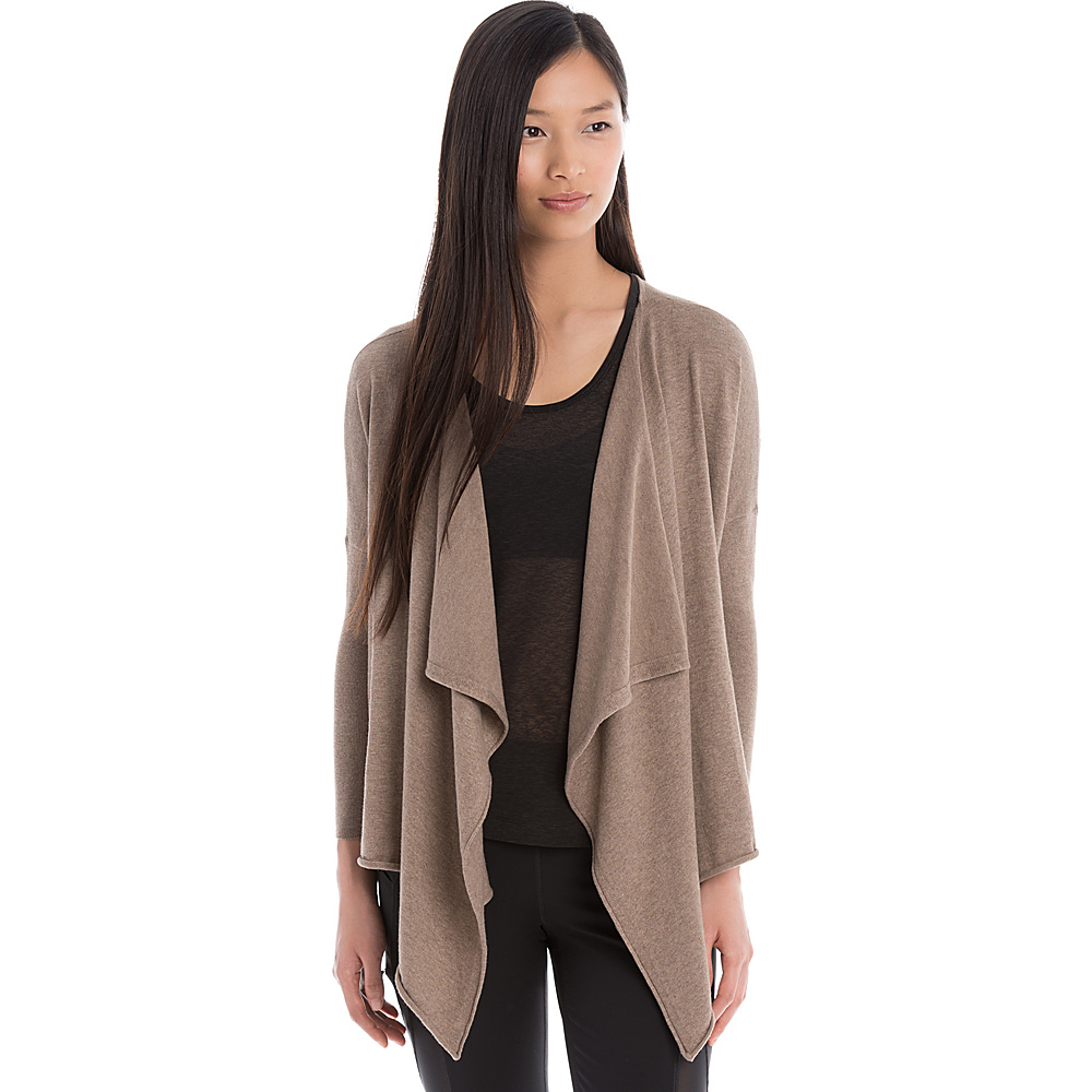 Lole Murielle Cardigan S - Cinder Heather - Lole Womens Apparel - Apparel & Footwear, Women's Apparel