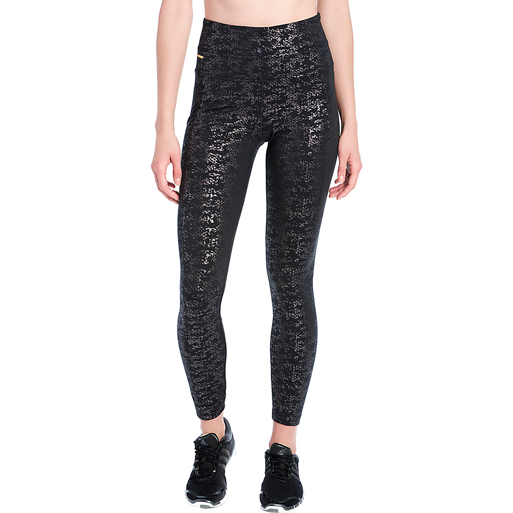 Lole Panettiere Leggings M - Black Bustlight - Lole Womens Apparel - Apparel & Footwear, Women's Apparel