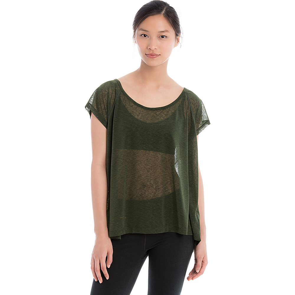 Lole Beth Top M - Green - Lole Womens Apparel - Apparel & Footwear, Women's Apparel