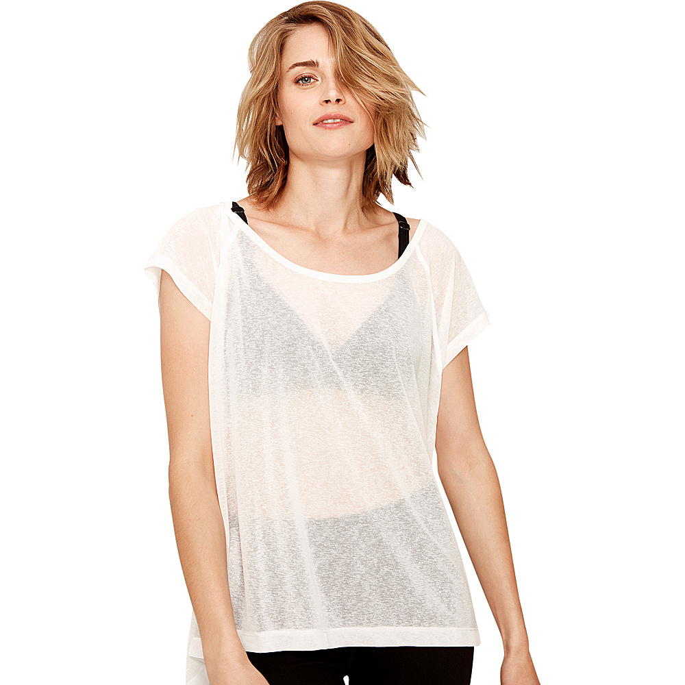 Lole Beth Top S - White - Lole Womens Apparel - Apparel & Footwear, Women's Apparel