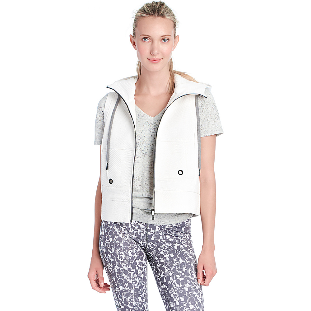 Lole Sloane Hooded Vest M - White - Lole Womens Apparel - Apparel & Footwear, Women's Apparel