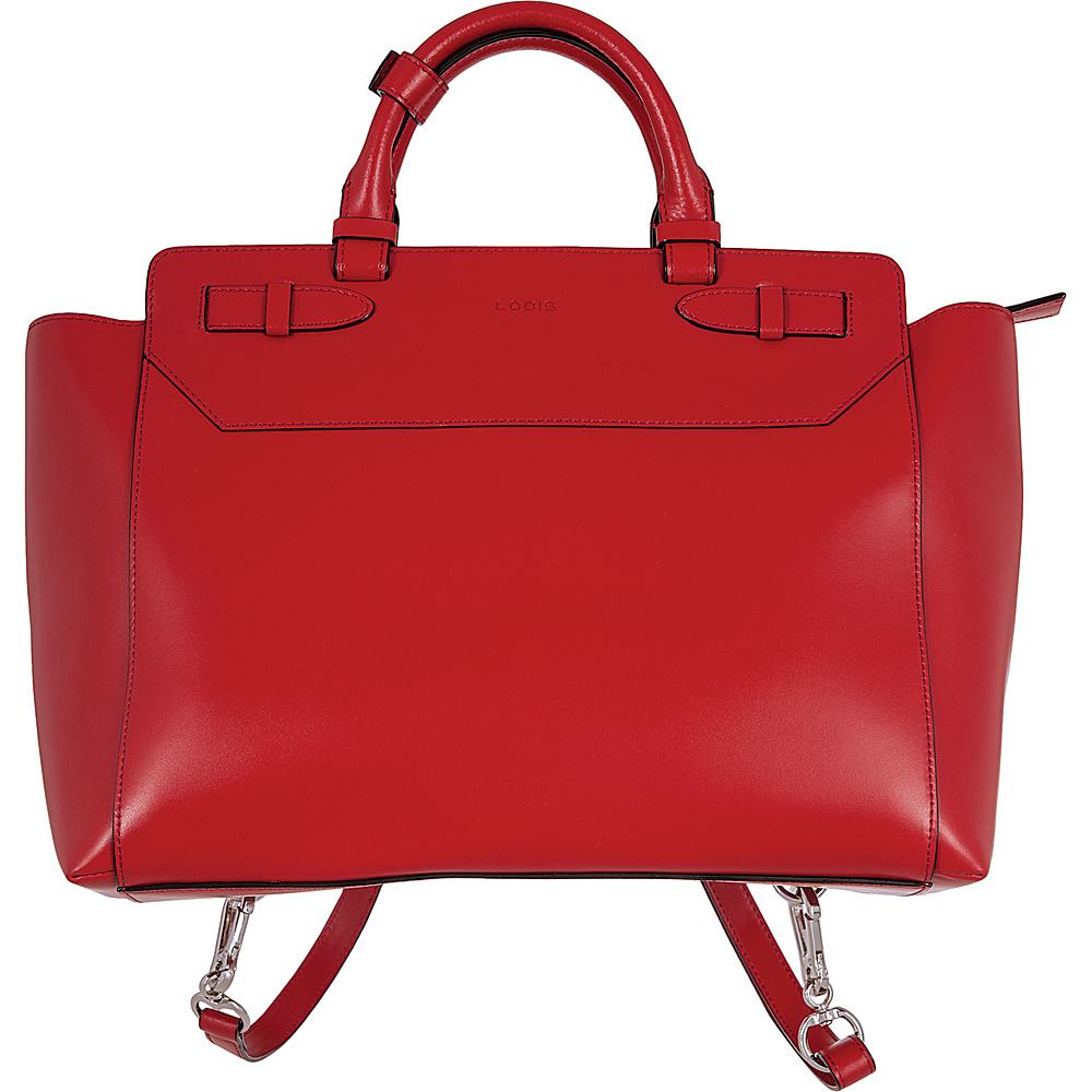Lodis Audrey Quince Convertible Backpack Red - Lodis Leather Handbags - Handbags, Leather Handbags