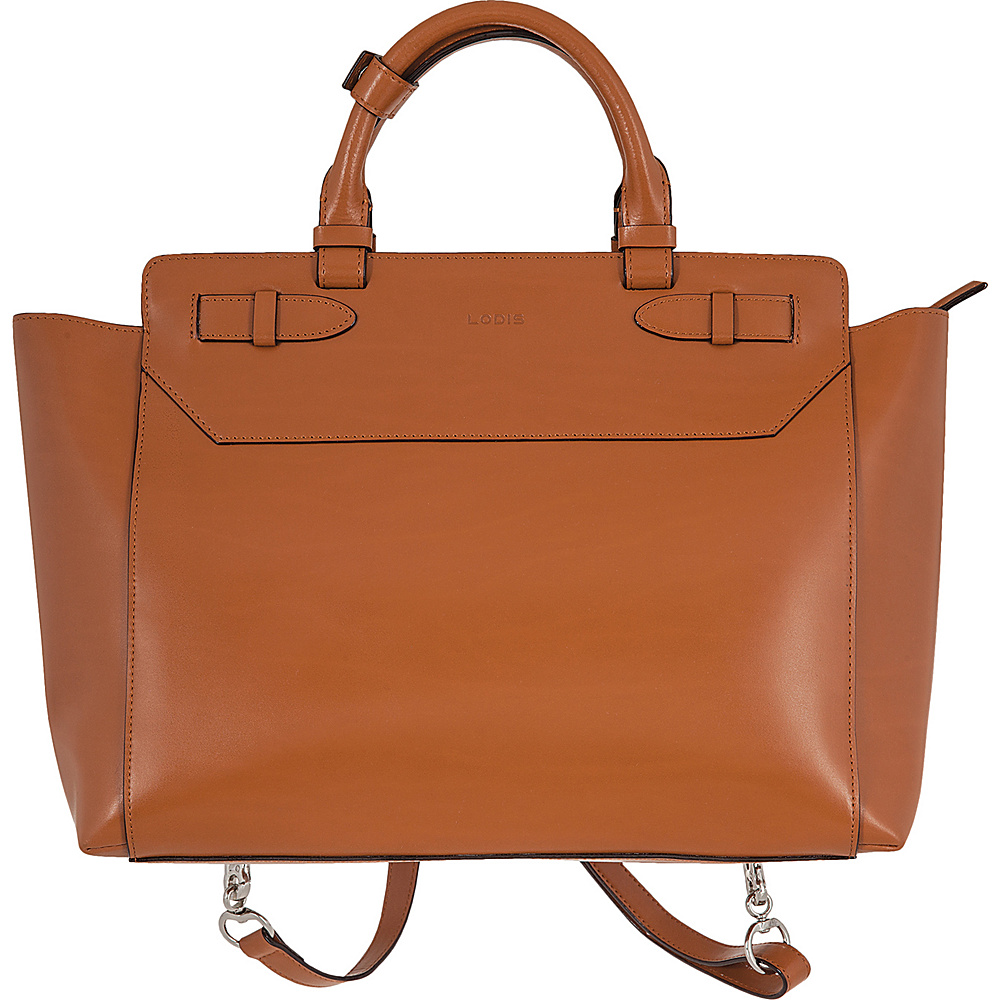 Lodis Audrey Quince Convertible Backpack Toffee - Lodis Leather Handbags - Handbags, Leather Handbags