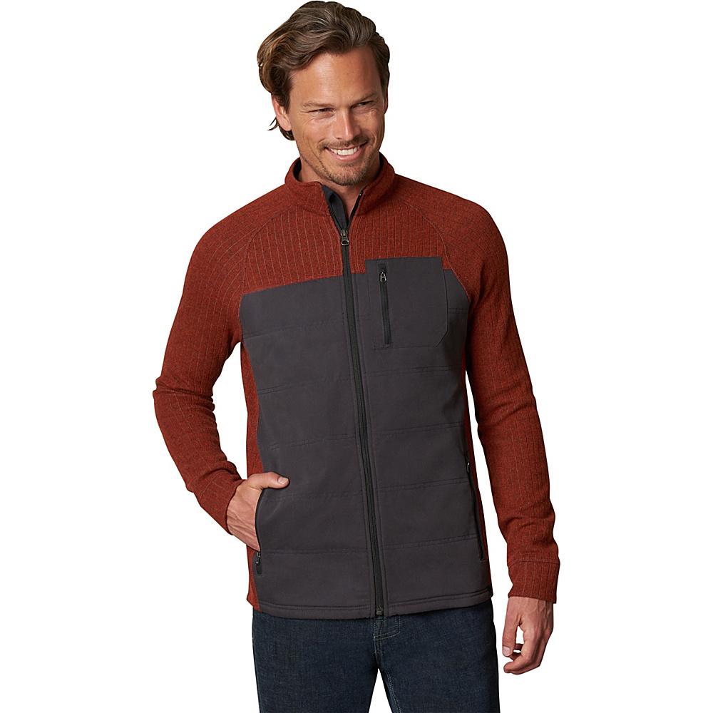 PrAna Appian Sweater L - Henna - PrAna Mens Apparel - Apparel & Footwear, Men's Apparel