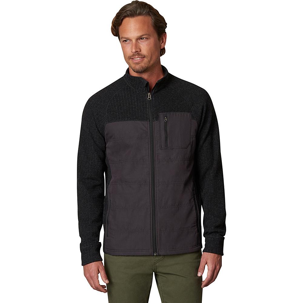 PrAna Appian Sweater L - Charcoal - PrAna Mens Apparel - Apparel & Footwear, Men's Apparel