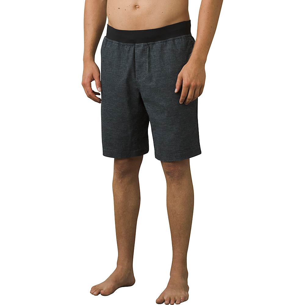 PrAna Vaha Short S - Black - PrAna Mens Apparel - Apparel & Footwear, Men's Apparel