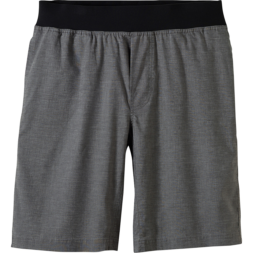 PrAna Vaha Short L - Gravel - PrAna Mens Apparel - Apparel & Footwear, Men's Apparel