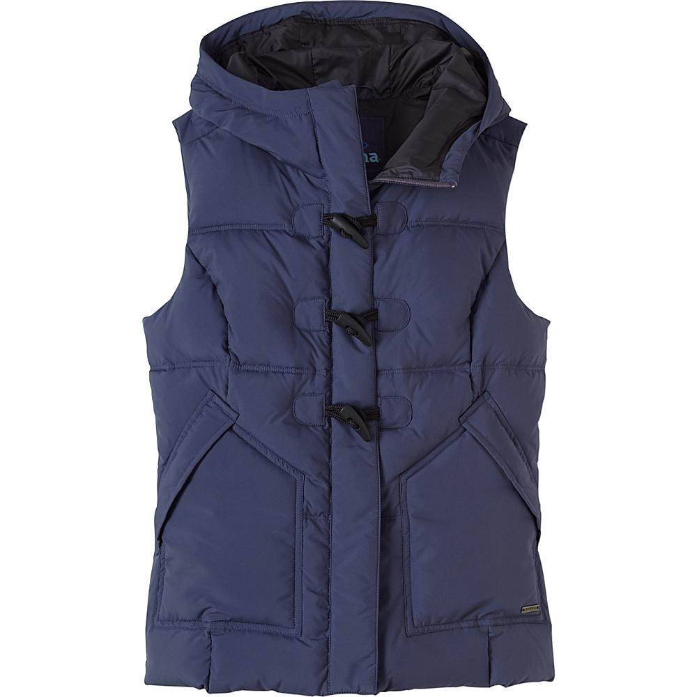 PrAna Evelina Vest S - Gray Indigo - PrAna Womens Apparel - Apparel & Footwear, Women's Apparel