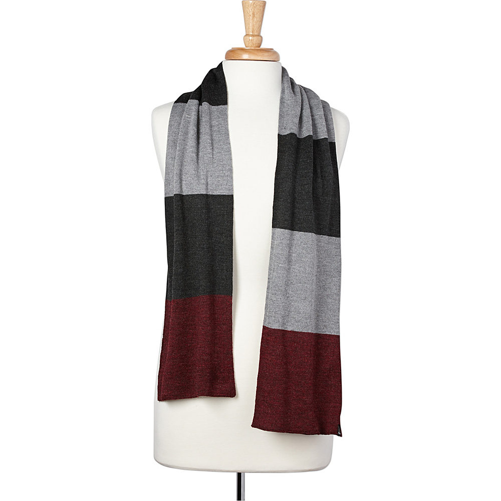 PrAna Otis Scarf Charcoal - PrAna Hats/Gloves/Scarves - Fashion Accessories, Hats/Gloves/Scarves