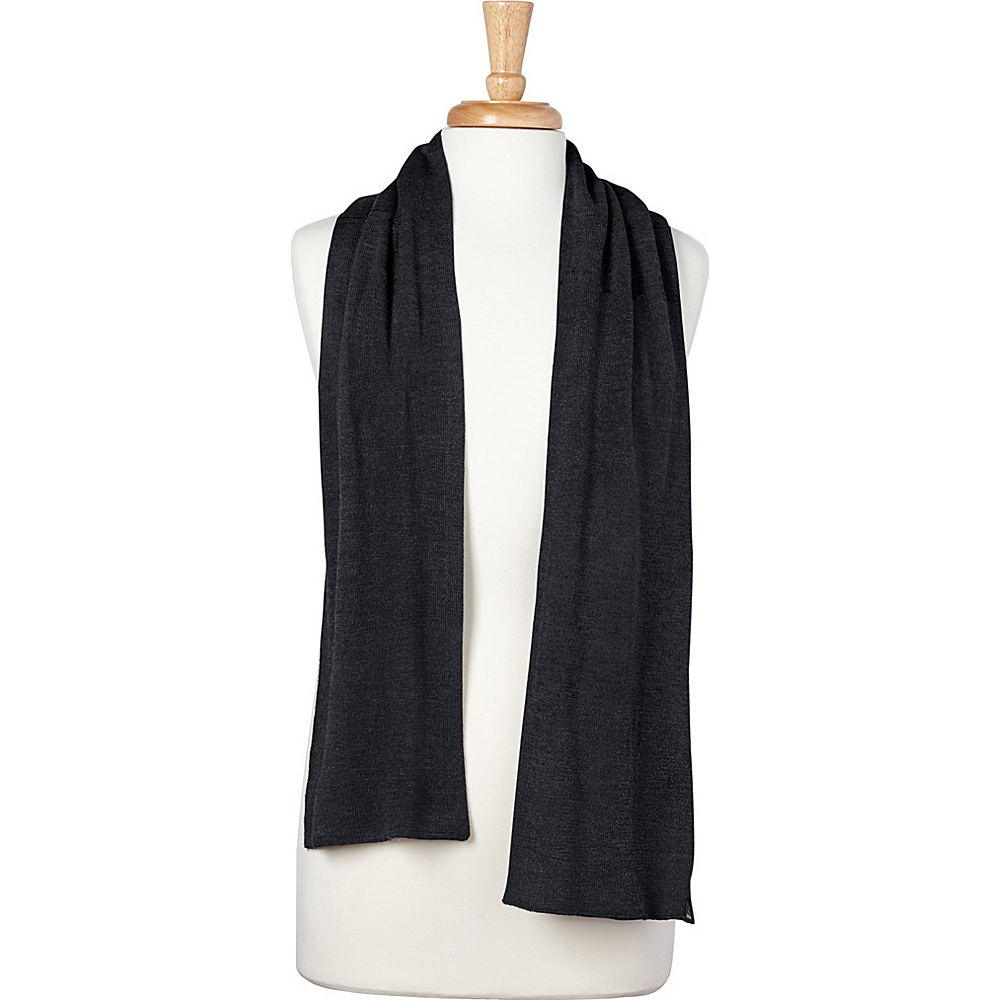 PrAna Otis Scarf Coal - PrAna Hats/Gloves/Scarves - Fashion Accessories, Hats/Gloves/Scarves