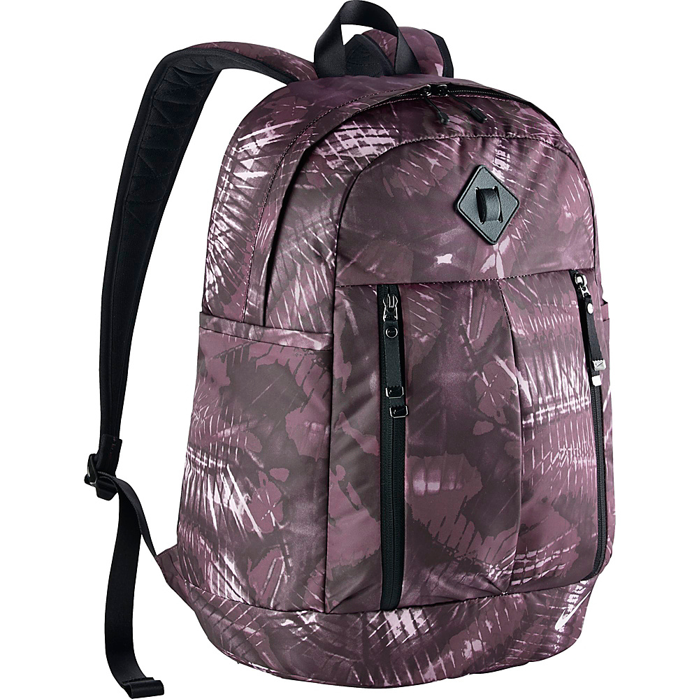Nike Auralux Backpack Print Purple Shade Black Bleached Lilac Nike Everyday Backpacks